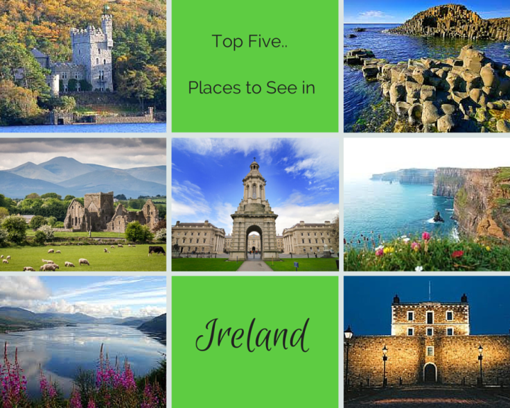 Top Five.. places to see