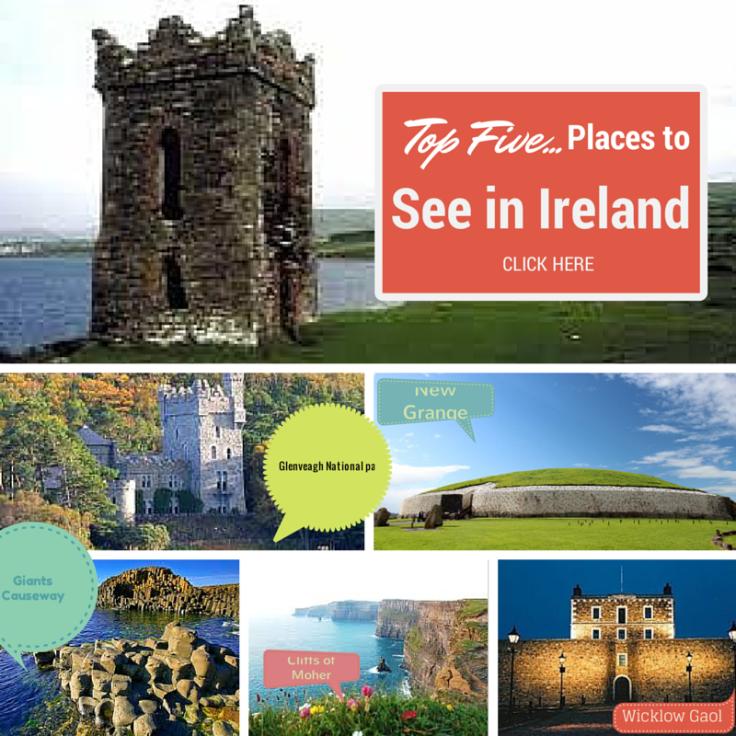 Top Five places