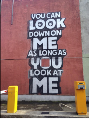 you can look