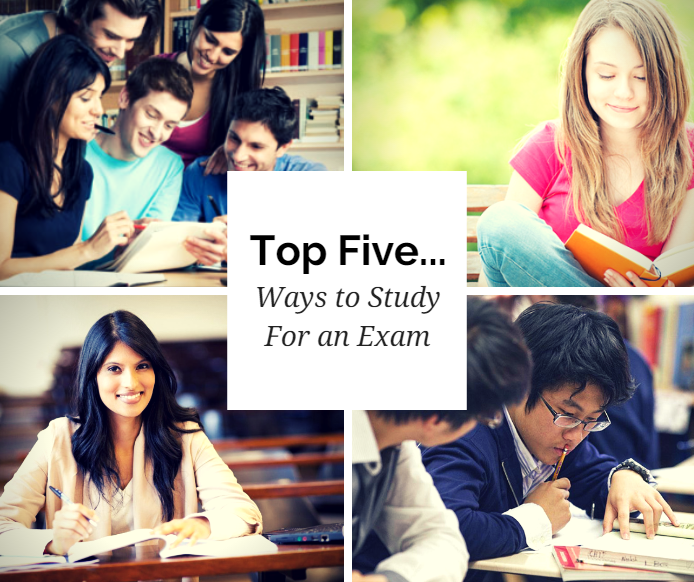 top 5 ways to study