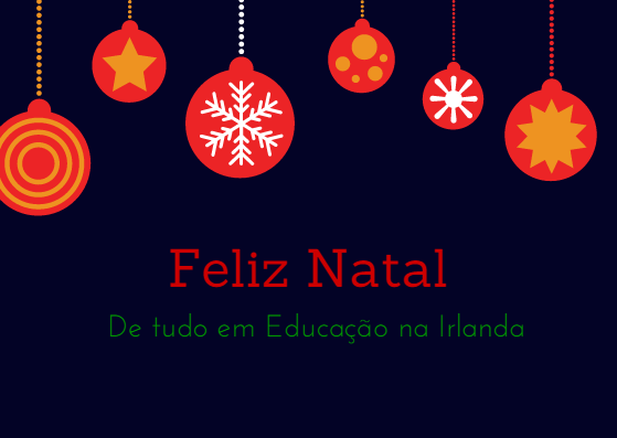 merry xmas - portugeuse