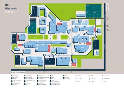 Campus map DCU